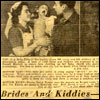Brides and Kiddies article Mauretania February 1946