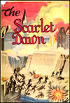 The Scarlet Dawn cover jacket was designed by Roger Hennessy of Bathurst.